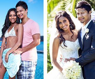 The Voice's Julian Simonz goes on dream honeymoon with wife Nelu