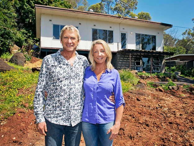 Carole and Russ have a property portfolio worth about $2.3 million. The pair, who say a paid-off mortgage is what they desperately need, already own a palatial waterfront property with two living areas, a spa bath and private jetty!