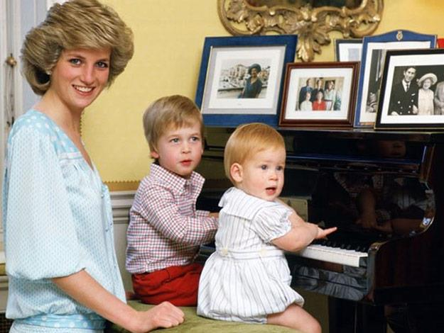 Diana was known as a devoted mother. She chose both of her son's first names and she negotiated her public duties around her children.