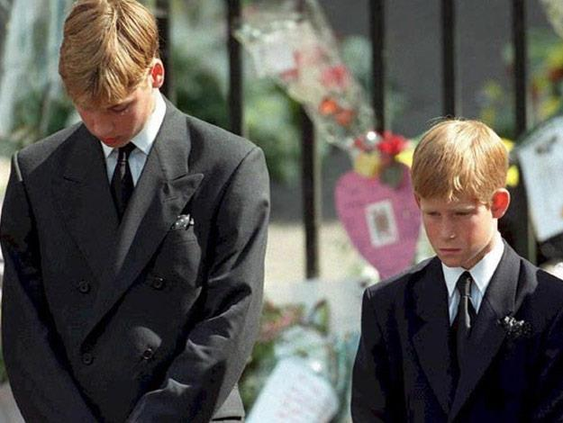 A young Prince William and Prince Harry attended their mother's funeral, which took place at Westminster Abbey on September 6, 1997. Her sons walked in the funeral procession behind her coffin, alongside their father Prince Charles and Diana's brother Earl Spencer.