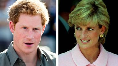 Prince Harry tears up recalling Princess Diana's death
