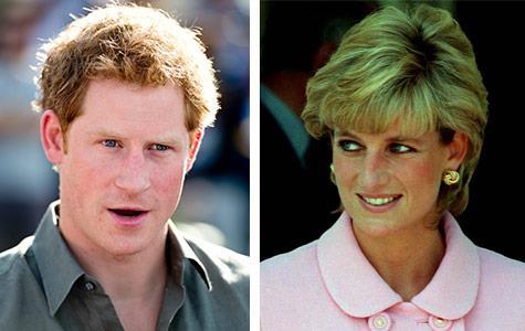 Prince Harry tears up recalling Princess Diana's death