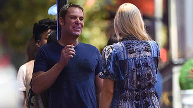 WORLD EXCLUSIVE pictures: Shane Warne and Sophie Monk