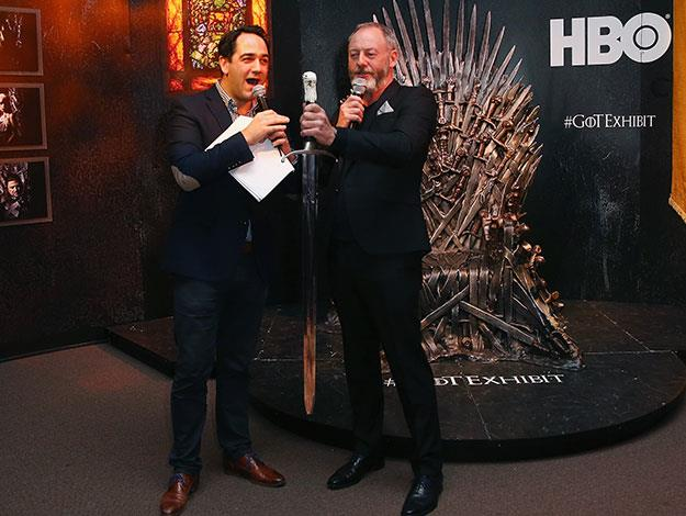 Lord Wippa, of the House of Nova, kicked off proceedings along with Liam Cunningham