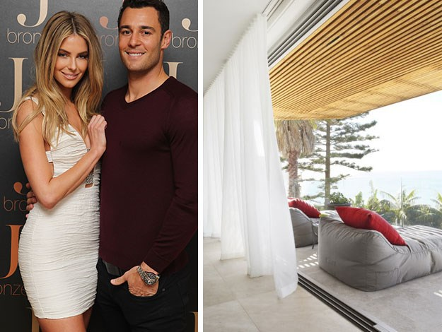 Jen Hawkins and Jake Wall have put their beachside Sydney property up for auction