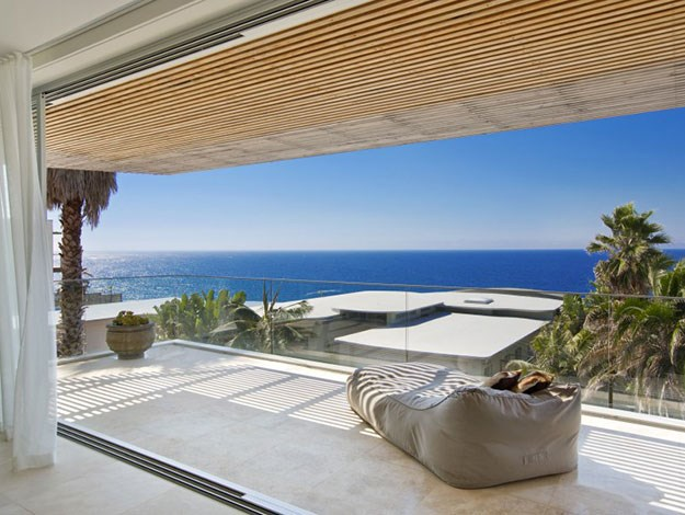 The house features panoramic ocean views from every room