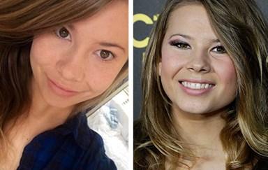 Bindi Irwin shares make-up free selfie