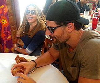 Sofia Vergara & Joe Manganiello snapped on lunch date