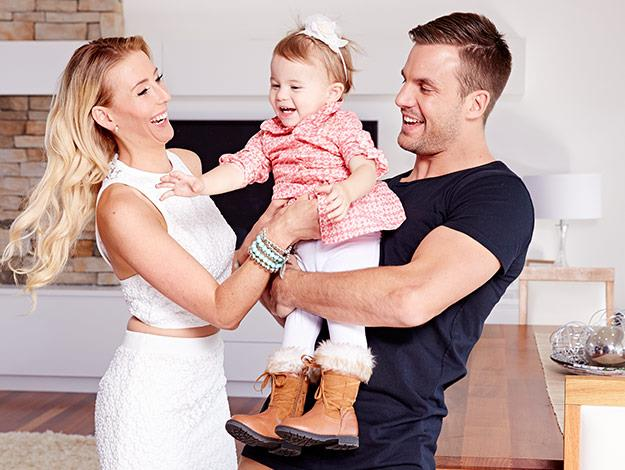 The happy family.