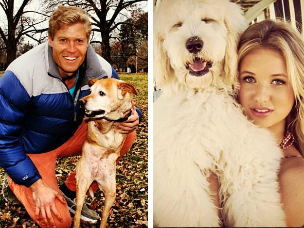 Match made in heaven: The pair are both animal lovers.
