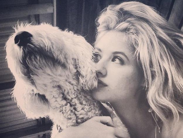 Kassandra is a dog lover just like Dr Chris.