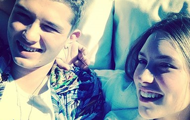 Jude Law's son Rafferty and girlfriend: a ridiculously good-looking couple