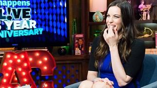 Liv Tyler talks about Justin Theroux's bulging manhood