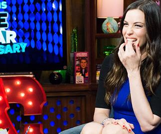 Liv Tyler talks about Justin Theroux's bulging manhood