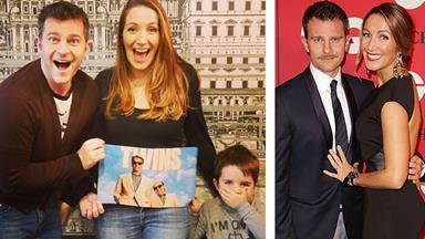 David Campbell's baby news: 'We're having twins!