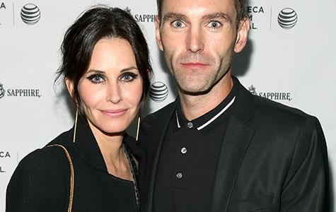 Courteney Cox scouting wedding venues in Northern Ireland