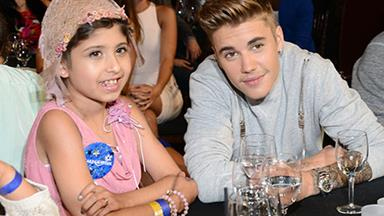 Justin Bieber takes young fan as date to the Young Hollywood Awards