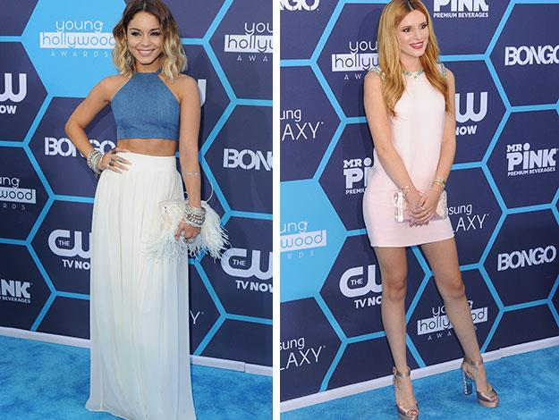 Young star Vanessa Hudgens and Bella Thorne were also in attendance at the awards.