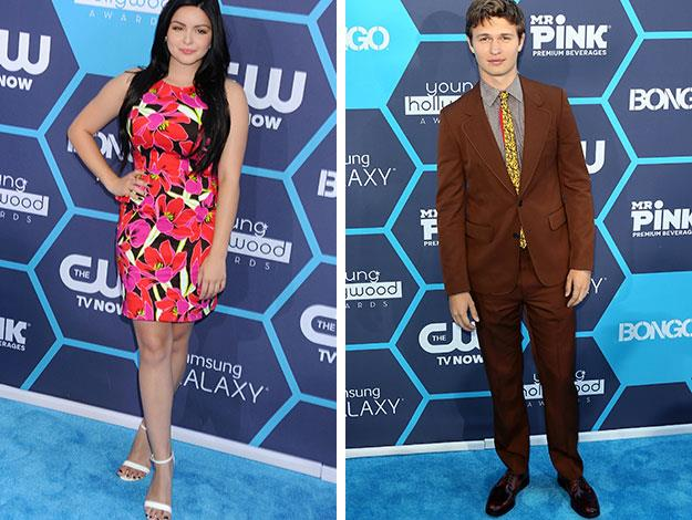 *Modern Family'*s Ariel Winter and teen heart-throb Ansel Elgort of *The Fault in Our Stars* were also at the awards.