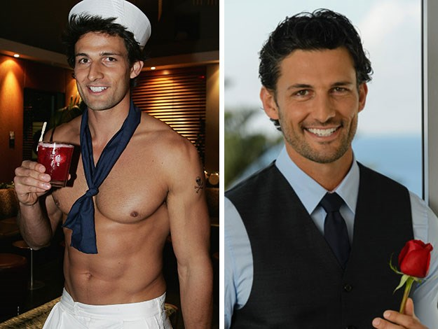 The previous Bachelor Tim Robards also had a history of his own as a topless dancer, which didn't come to light until after the show went to air.
