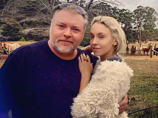 Kyle Sandilands and girlfriend Imogen Anthony are reportedly engaged.