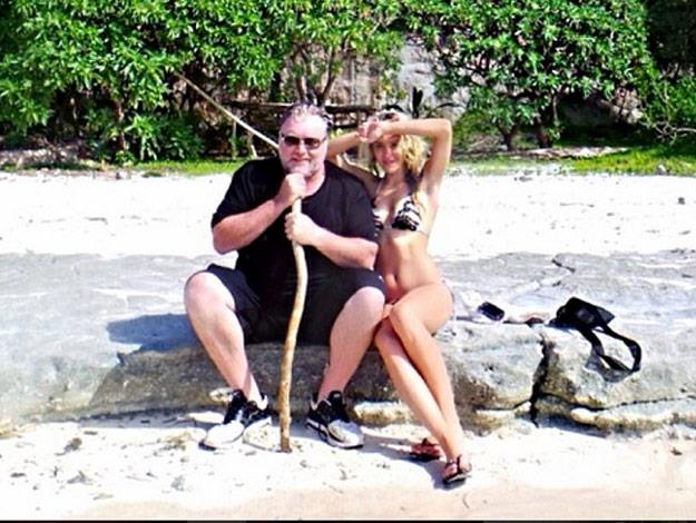 Kyle and Imogen have also spent time in Fiji as a couple.