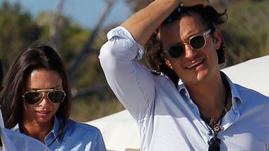 Orlando Bloom and Erica Packer spotted holidaying together