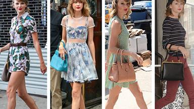 Taylor Swift leaves the gym in $8000 outfit!