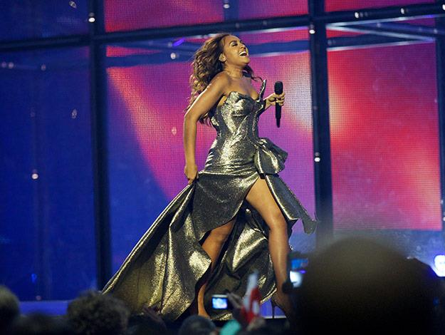 Jess's fame reached new heights earlier this year when she represented Australia as a guest at Eurovision.