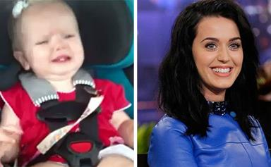 WATCH: Baby's hilarious reaction to Katy Perry