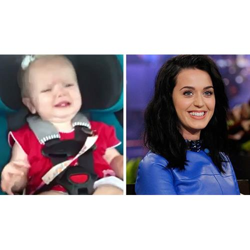 Watch Baby S Hilarious Reaction To Katy Perry Now To Love