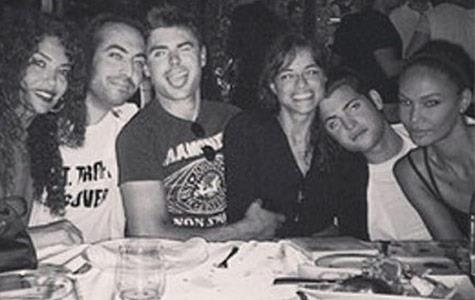 Zac Efron and Michelle Rodriguez continue to get cozy