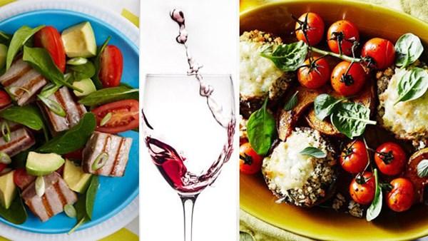 Eat fat & drink wine to lose weight on the Mediterranean diet