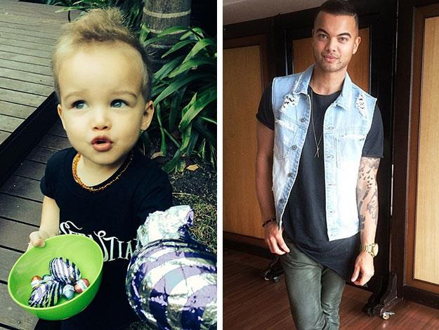 "Guy Sebastian said ""he's psycho"" when speaking about his two-year-old son Hudson on radio this morning."
