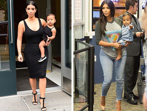 North West is already taking after mother Kim as a mini-fashionista. Kim has even been dressing her daughter in mini-me outfits so that the pair coordinate when photographed together.