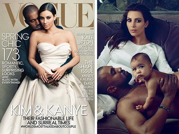 North has of course, already been featured in one famous fashion shoot for an international fashion magazine: when she and her parents were featured in the cover shoot and spread for US *Vogue*.