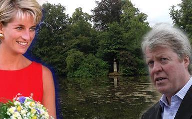 Princess Diana's island grave shamefully neglected