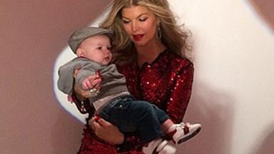 Fergie shares story of baby Axl's first steps
