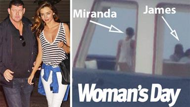 CAUGHT OUT: Miranda Kerr and James Packer on luxury getaway together