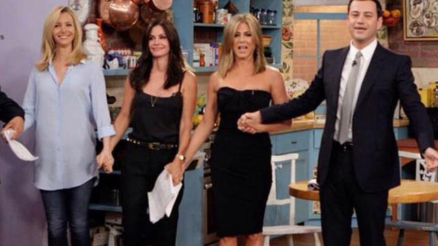 Jennifer Aniston and the Friends cast have reunited!