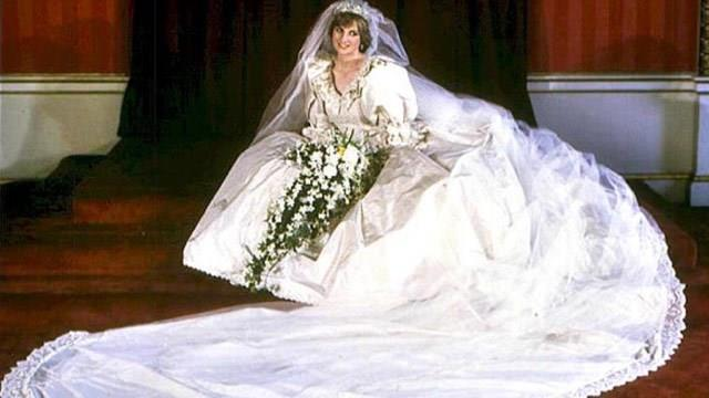Princess Diana's wedding gown