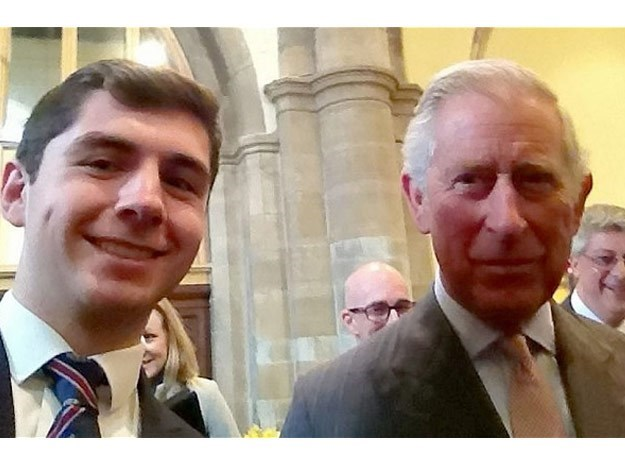 Prince Charles is also no stranger to the selfie phenomenon!
