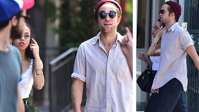 Robert Pattinson spotted out with new girlfriend FKA Twigs