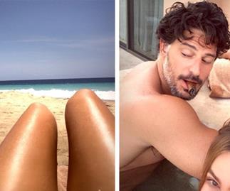 Sofia Vergara & Joe Manganiello's sexy Mexican getaway
