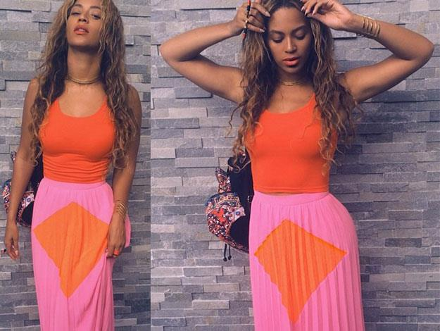 Fortunately for those that love to covet Queen Bey's wardrobe, she's quite the fan of sharing style-snaps on social media.