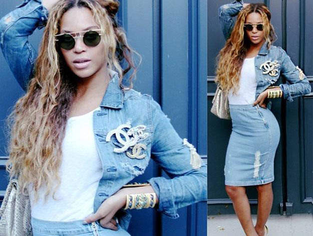 Only Queen Bey could make denim looks this fierce.