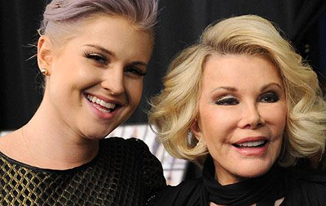 Kelly Osbourne pays tribute to Joan Rivers