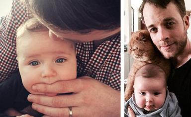Hamish Blake celebrates his first Father's Day with Zoe Foster-Blake