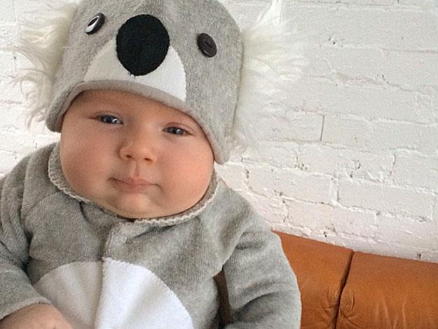 ….and another one of Sonny dressed as a koala, just because it's really cute!