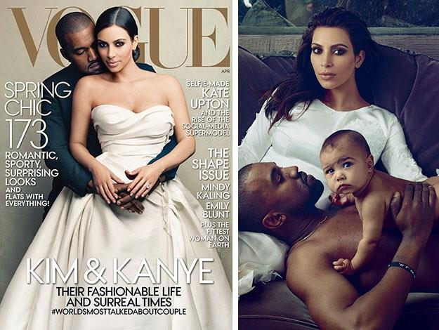 It is perhaps not so surprising that Kim and Kanye, being the fashion addicts they are, took the American *Vogue* Editor's word as gospel. After all, it was Anna who put them on the cover of the fashion bible earlier this year, elevating their fashion credibility ever-higher.